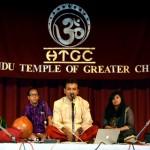Carnatic Vocalist Unnikrishnan in Chicago