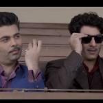 Karan Johar and ranbir in bombay-velvet