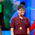 Karan Menon who has won the National Geographic Bee contest