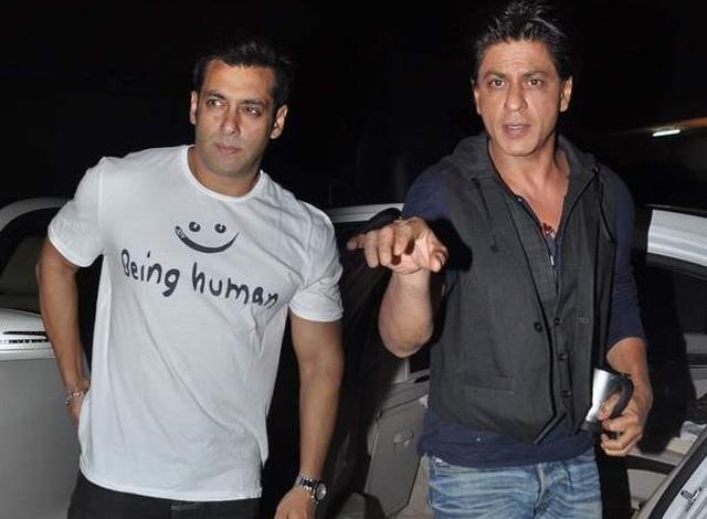 Shahrukh and Salman Khan are now pukka friends