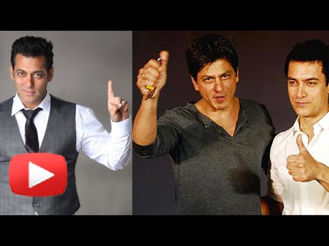 Shahrukh, Salman and Aamir Khan are now together!