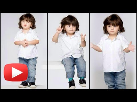 Shahrukh's son AbRam in cute photoshoot on his second birthday