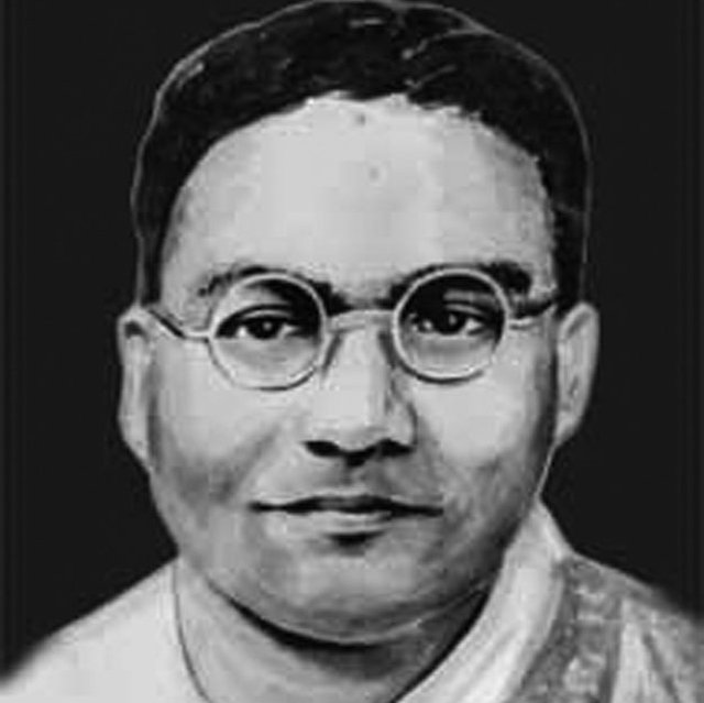 Jogendra Nath Mandal, Pakistan's first labour and law minister, who moved to India