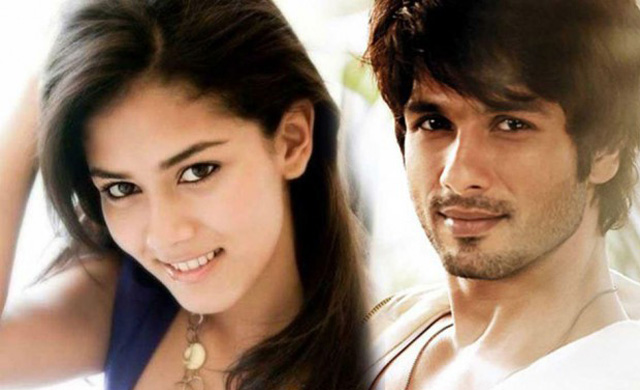 Shahid Kapoor and his would-be wife Mira Rajput