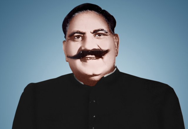 Ustad Bade Ghulam Ali Khan. Photo courtesy Flickr