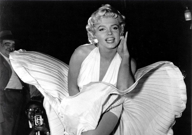 Most famous blonde Marilyn Monroe