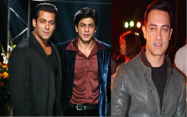 Bollywood coup of the century: Shahrukh, Salman and Aamir ...