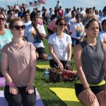 Yoga Day celebrations in Washington DC