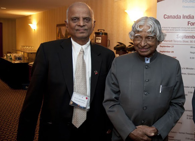 How Canada's governor-general delayed his oath-taking in 2010 for sake of Dr Abdul Kalam, says Lucky Lakshmanan
