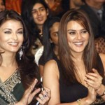 aishwarya with Preity zinta