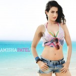 amisha patel in shorts