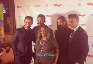 Deepa Mehta and cast of 'Beeba Boys'