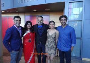 Gabe, Anya, Arshad, Supinder and Suraj