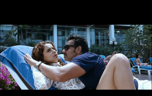 Kangana and Ajay Devgn