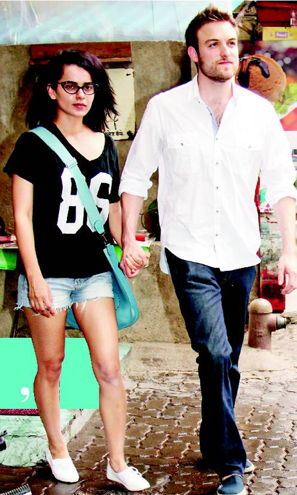 Kangana with Nicholas Lafferty