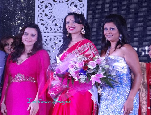 Manasvi Noel with Preity Zinta