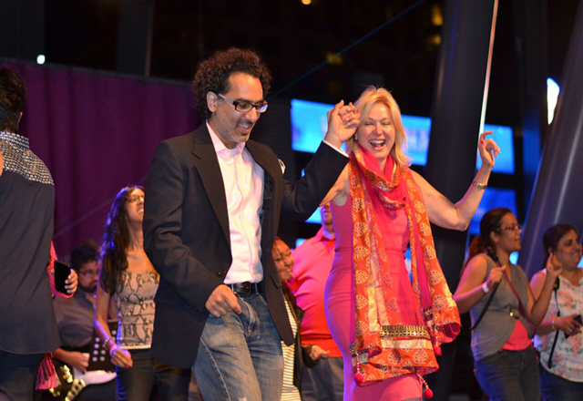Mississauga Mayor Bonnie Crombie shakes a leg as Bollywood Monster Mashup draws record crowds