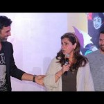 Dimple embarrasses Akshay at Twinkle book release