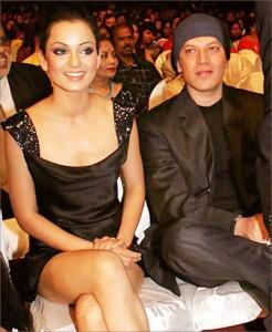 Kangana and Aditya Pancholi