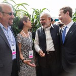 Modi with Mark Zuckerberg and his parents