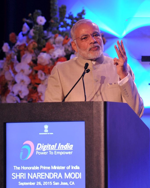 Digital India initiative is to transform the nation, Modi tells Silicon Valley at Digital India Dinner