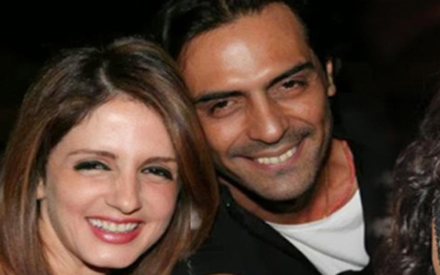 Sussanne caught with Arjun Rampal