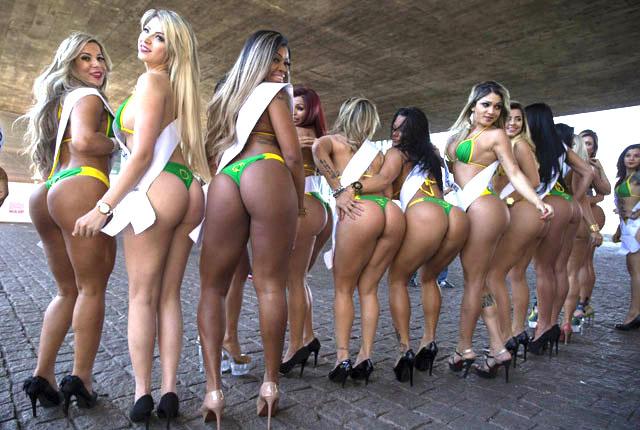 brazil Miss bumbum