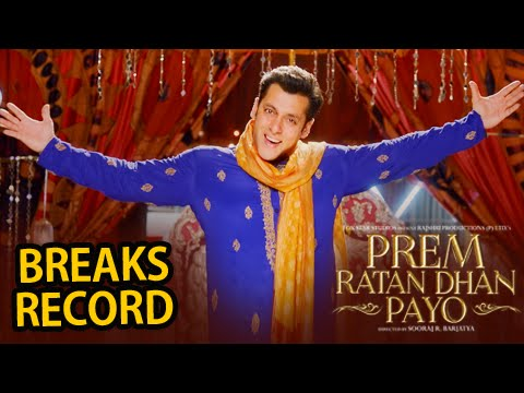 Prem Ratan Dhan Payo trailer crosses 5-million on YouTube