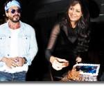 Shahrukh Khan celebrates wife Gauri's 45th birthday