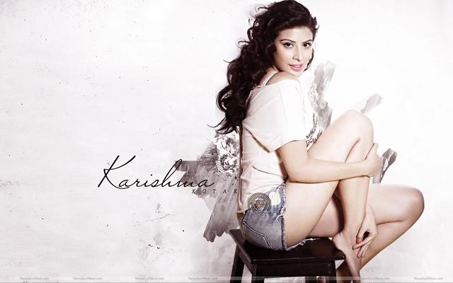 Actress Karishma Kotak