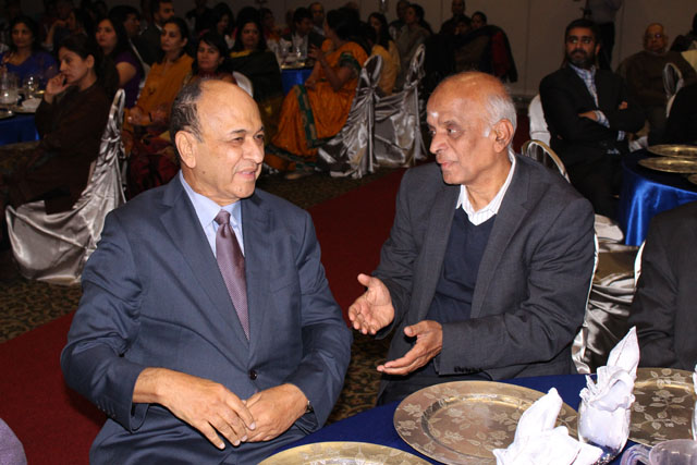 Lucky Lakshamanan with Ramesh Chotai