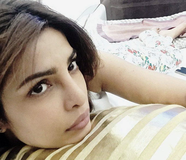 Priyanka Chopra sans makeup