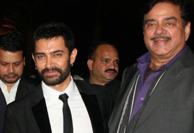Aamir has no reason to feel insecure, says Shatrughan Sinha