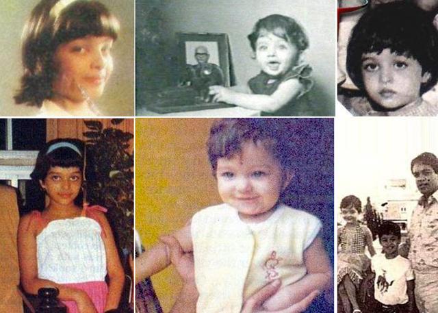 Ashwariya Rai childhood