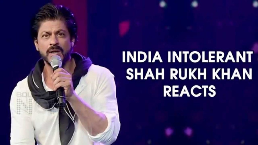 Shah Rukh Khan reacts to controversy created by his remarks on intolerance