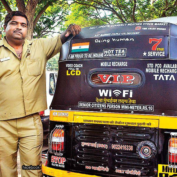 Read this moving story of kind-hearted Mumbai auto driver who cares for others