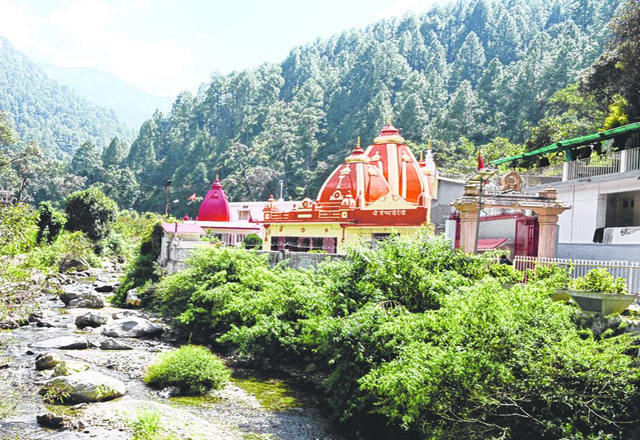 The ashram of Neen Karoli Baba where Apple founder Steve Jobs and Facebook CEO Mark Zuckerberg stayed.
