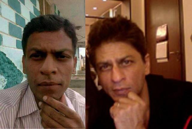 Shah Rukh Khan lookalike