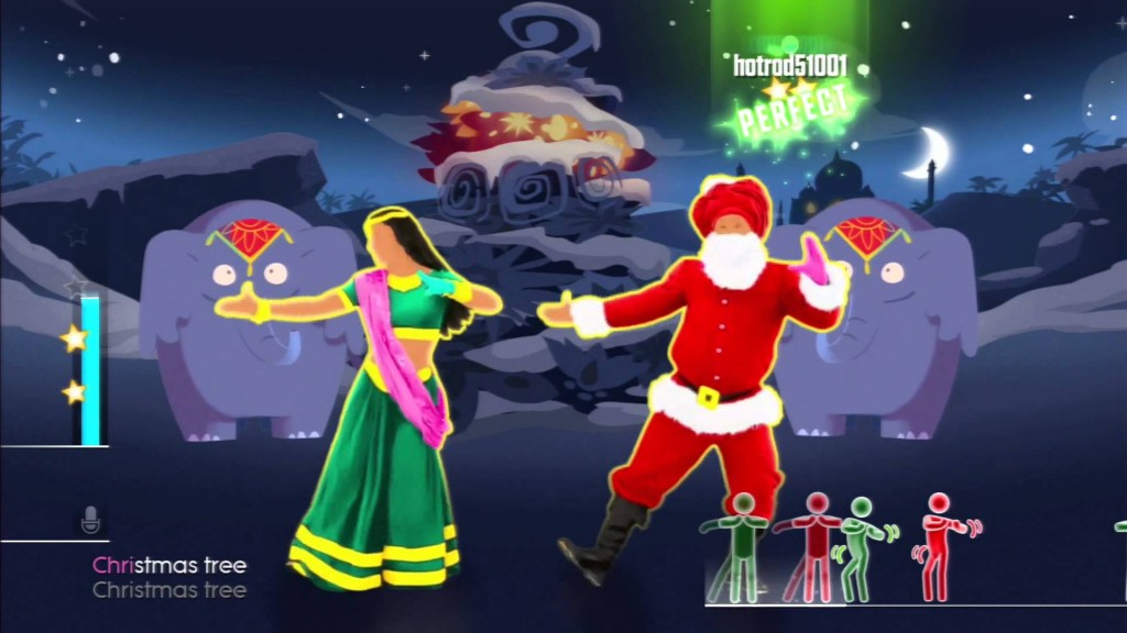 Santa in Bollywood for Xmas