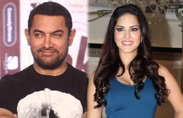 Aamir Khan says he is ready to work with Sunny Leone as Bollywood stars back her on nasty CNN-IBN interview