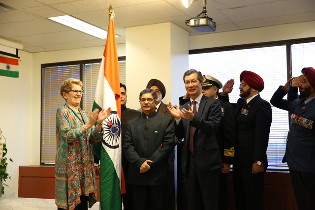 Premier Kathleen Wynne joins Indo-Canadians in Republic Day celebrations