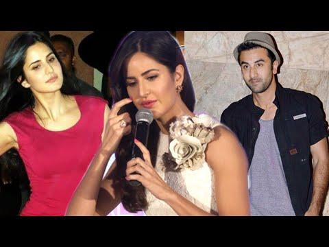Katrina reacts to her break-up with Ranbir Kapoor