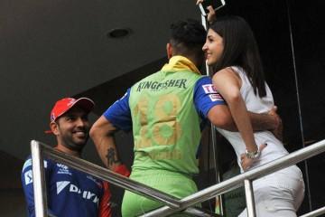 Anushka and Virat Kohli
