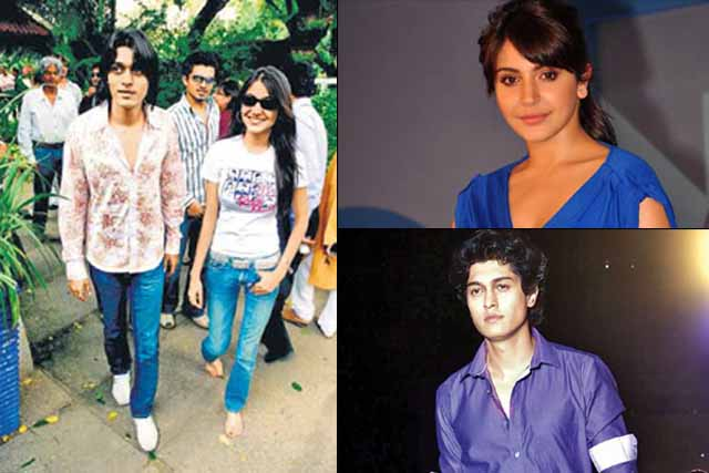Her first love: Anushka with Zoheb Yusuf