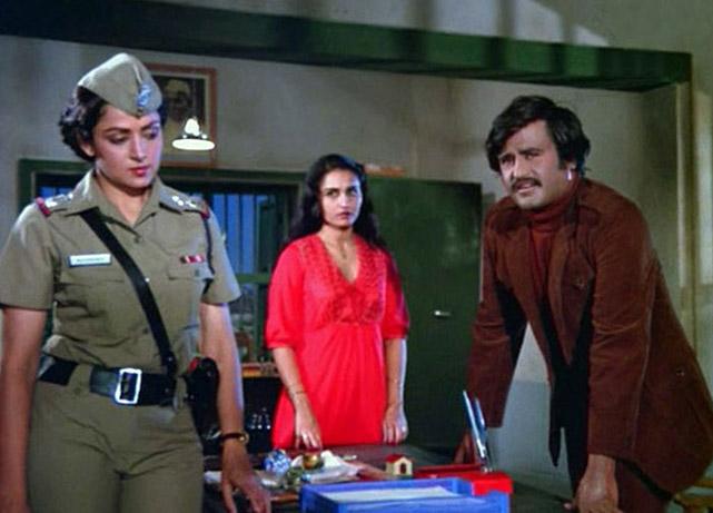Hema Malini as a cop in Andha Kanoon