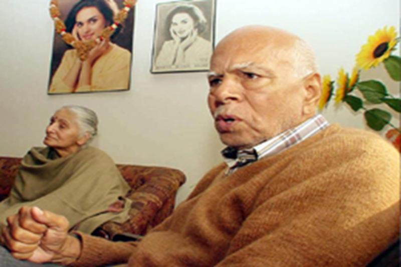 Neerja Bhanot's parents Harish Bhanot and Rama Bhanot