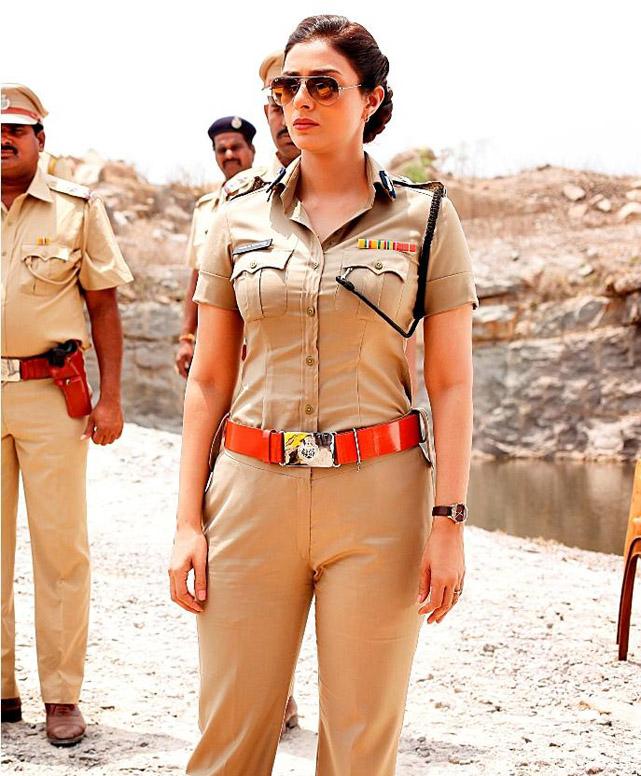 Tabu as a cop in Drishyam
