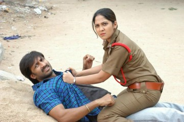ankitha as a cop in Raraju