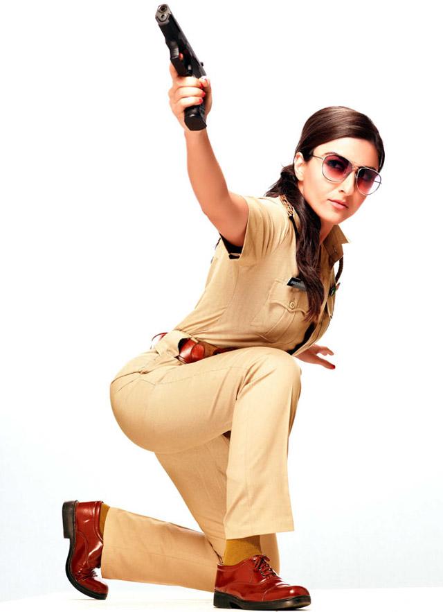 Soha Ali Khan as Inspector Shantipriya Phadnis in Mr Joe B Carvalho (2014)