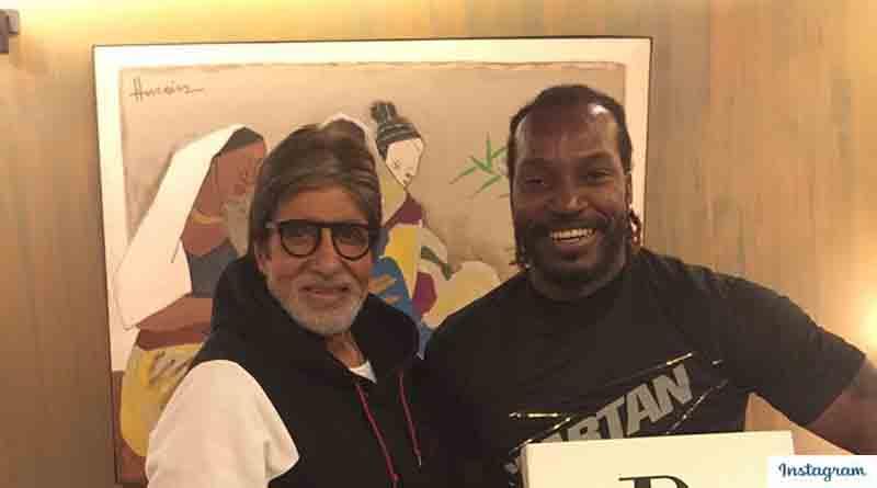 Look what Amitabh Bachchan tells Chris Gayle